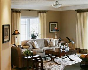 Transitional living space - Traditional - Living Room