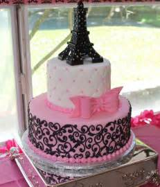 eiffel tower cake paris theme baby shower annacakes com