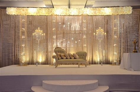 muslim reception decor wedding flowers  decorations