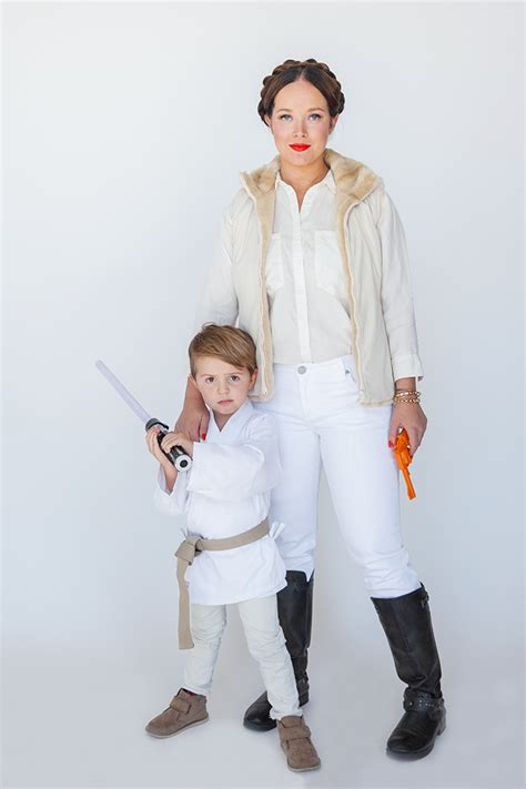 simple costumes halloween family costumes star wars say yes