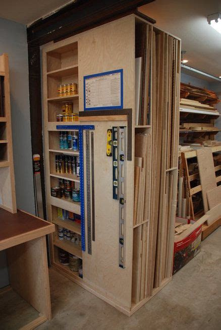 woodshop storage good        place