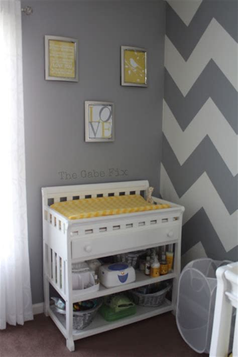 cover letter sample it baby chad s nursery the gabe fix by gabrielle flowers 21165 | yellow gray and white nursery