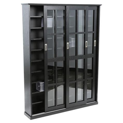 leslie dame sliding door media cabinet leslie dame sliding door multimedia storage cabinet