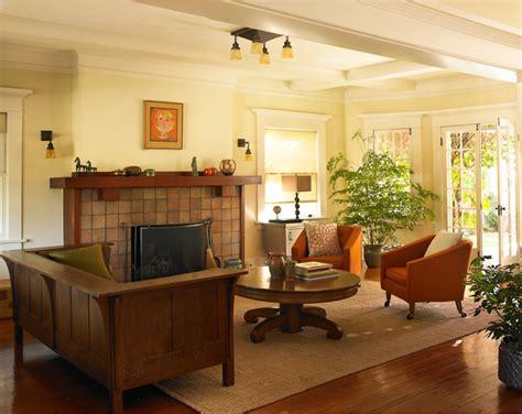 craftsman bungalow craftsman living room los angeles