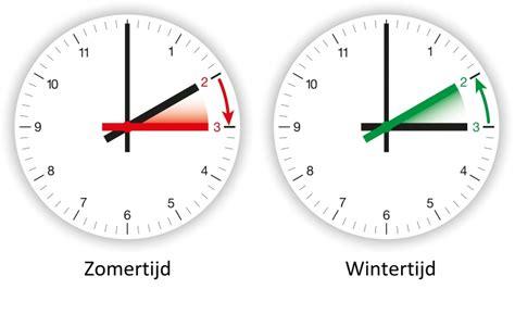 wintertijd klok vooruit zomertijd en wintertijd wanneer wordt de klok verzet