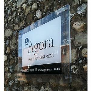 Custom Printed 5mm Acrylic Signs - Office Signs