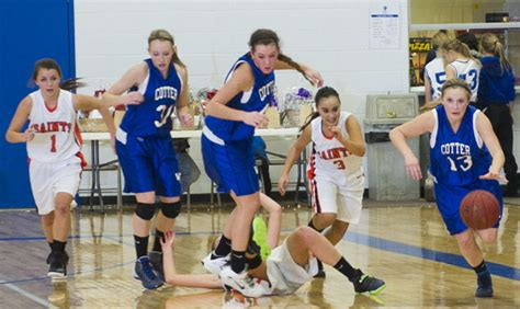 Cotter Girls Use Defense To Get First Three Rivers