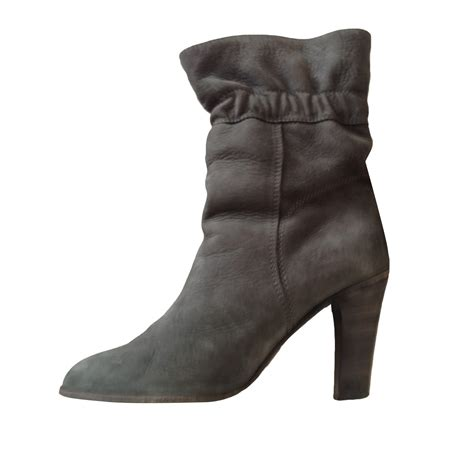Boots Comptoir Des Cotonniers by High Heel Ankle Boots Comptoir Des Cotonniers 38 Gray