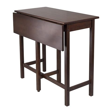 high top drop leaf table review winsome lynnwood drop leaf high table pub tables