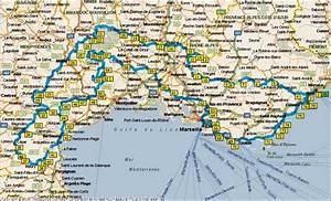 Carte du Sud de la France Arts et Voyages