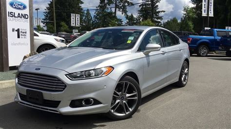 2015 Ford Fusion Titanium Awd +ecoboost +moonroof Review