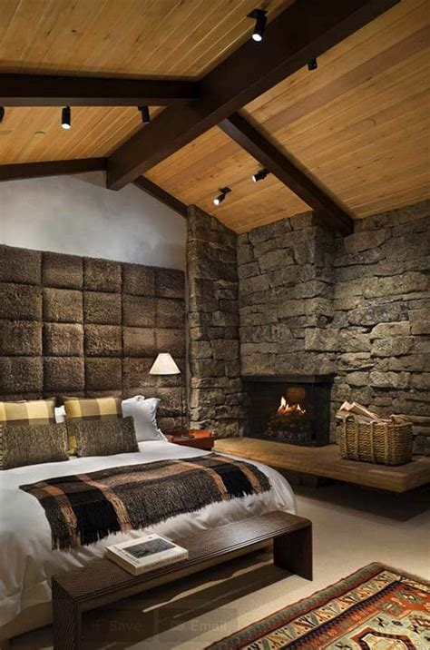 absolutely spectacular rustic bedrooms oozing  warmth