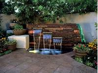 backyard water fountains 15 Unique Garden Water Features | HGTV