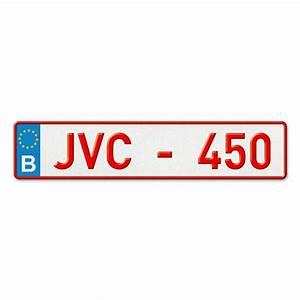 Immatriculation Voiture Belge : plaque d 39 immatriculation alu avant belge ~ Gottalentnigeria.com Avis de Voitures