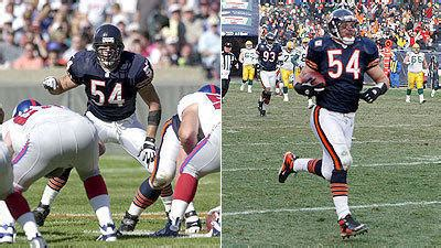 Hair Implants Canton Oh 44735 Brian Urlacher 39 I Changed The Way Middle Linebacker Was