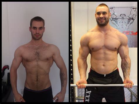 asi booster barnard 74 pound gained muscular transformation