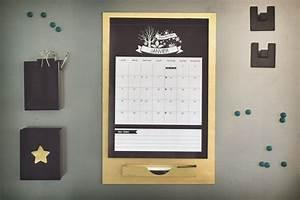 Tableau Aimanté Pour Photos : diy accessoires calendrier et to do list magn tiques ~ Teatrodelosmanantiales.com Idées de Décoration