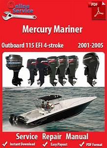 Factory Pdf Manuals  Mercury Mariner 115 Efi 4