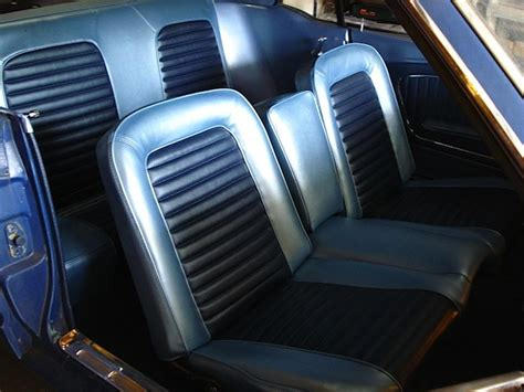 Camaro And Mustang Front Bench Seats?