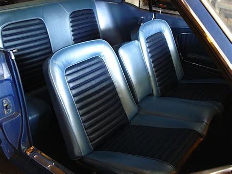 Camaro And Mustang Front Bench Seats?