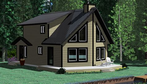 Cottage Plans The Skeena Prefab Cabin And Cottage Plans Winton Homes