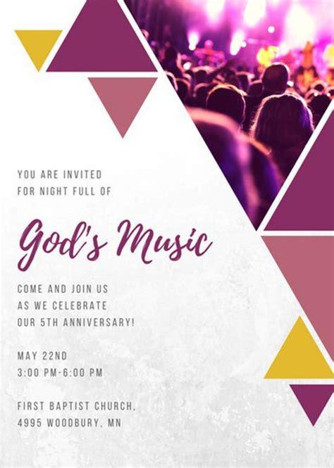 event invitation templates 8 church invitation templates free sle exle