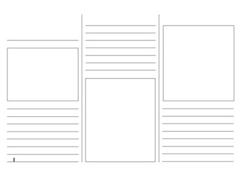 Leaflet Template by Leaflet Template By Jillyjones1987 Teaching Resources Tes