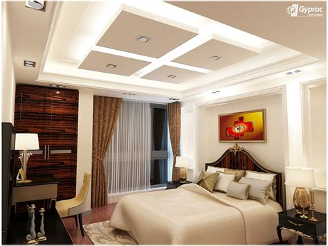 Bedroom Ceiling Design by Gyproc Falseceiling Can Completely Change Your Bedroom