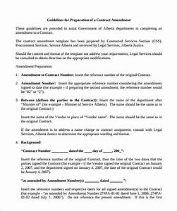 contract amendment template baskanidaico With operating agreement amendment template