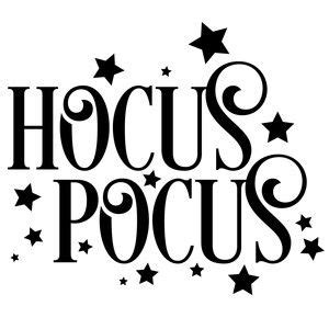 hocus pocus halloween vinyl halloween silhouettes