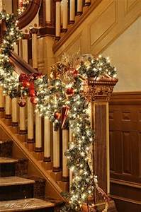 1000 images about STAIRS AT CHRISTMAS on Pinterest