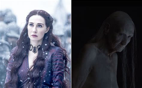 Melisandre's 'game Of Thrones' Transformation Took Six Hours Of Makeup