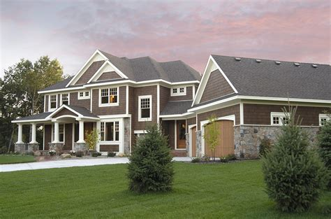 homes plans luxurious craftsman home plan 14419rk architectural