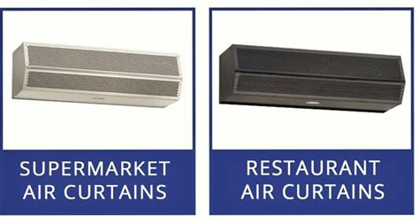 air curtains air door for supermarket dock doors fly