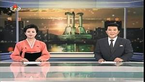 Evening news on North Korean TV, January 1 2014 - YouTube