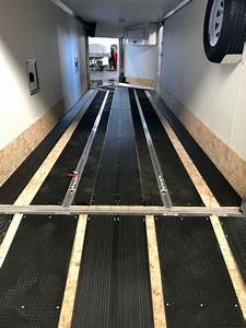 Slide Guides Inc  Snowmobile Trailer Traction Mat