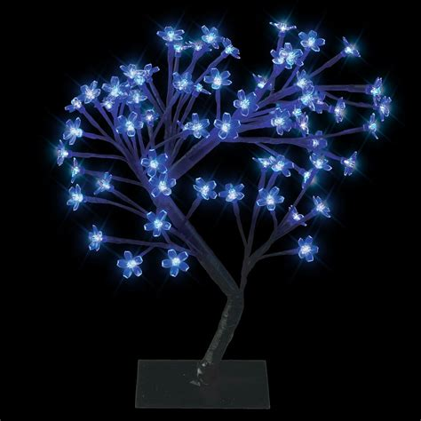 modern blue led bonsai tree with 64 led twig