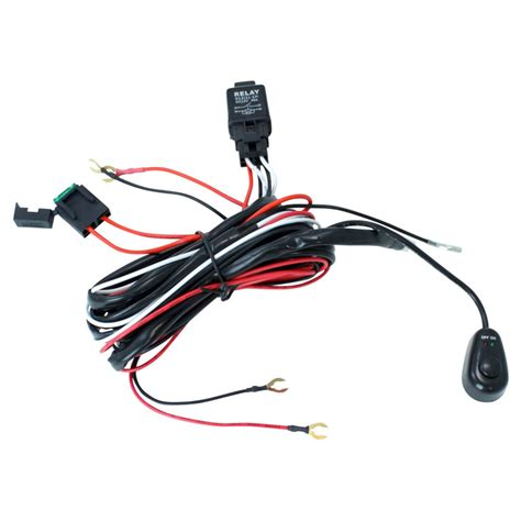 road atv jeep led light bar wiring harness 40