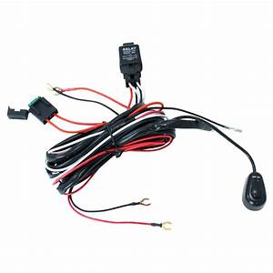 Off Road Atv  Jeep Led Light Bar Wiring Harness
