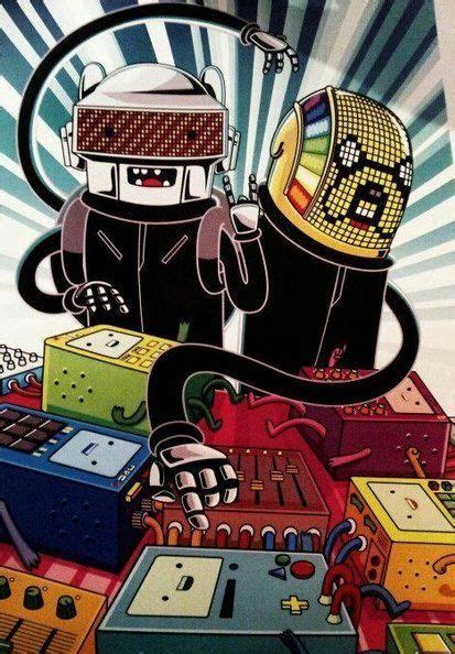 Daft Time? Adventure Punk? | Daft punk, Adventure time ...
