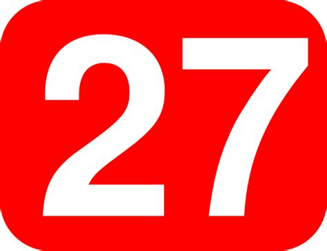 Number 25 Clipart