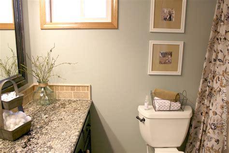 How To Decorate A Guest Bathroom  Bathroom Design Ideas
