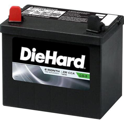 diehard lawn garden battery group size  price