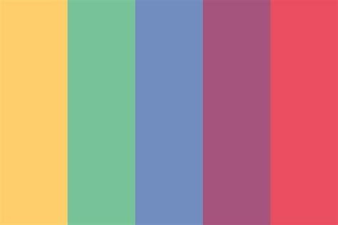 two color two dots color palette