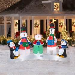 amazon com christmas decoration lawn yard inflatable carolers musical light show includes