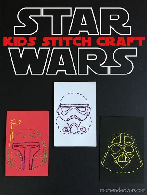 star wars stitch craft  kids   printable