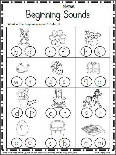 preschool letter sounds worksheet schematic  wiring