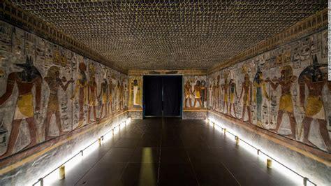 pharaoh seti  tomb resurrected  switzerland cnn style