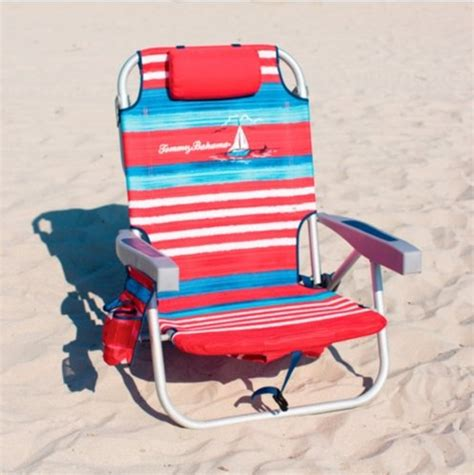 Bahama Backpack Cooler Chair Blue Stripe by Galleon Bahama 2015 Backpack Cooler Chair With