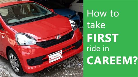 How To Take Careem First Ride In Pakistan